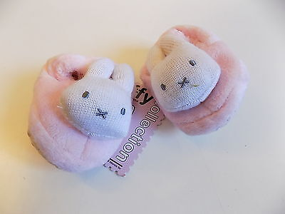Miffy / Mothercare super soft bunny shoes size 0-3 months BNWT