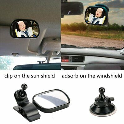 Universal Car Rear Seat View Mirror Baby Child Safety With Clip and Sucker BG