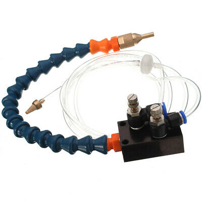 Mist Coolant Lubrication Spray System for CNC 8mm Pipe Lathe Mill Drill Machine