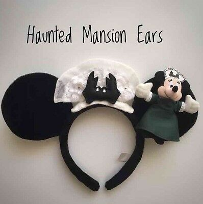 Disney Japan Haunted Mansion Hairband Minnie Mouse From Tokyo