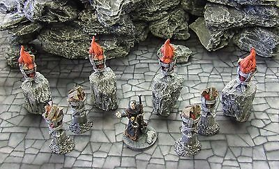 'braziers Pack' - Fantasy Terrain - Painted To Collector's Standard