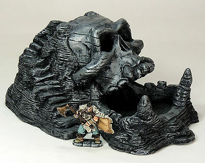 'giant Skull Shrine' - Fantasy Terrain - Painted To Collector's Standard