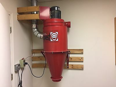 PSI's TEMPEST  2HP Cyclone Dust Collector
