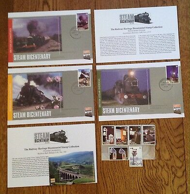 The Railway Heritage Bicentennial Stamp Collection