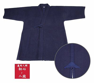 Kendo clothing wear navy blue singlet 160cm Cotton 100% JAPAN F/S Tracking