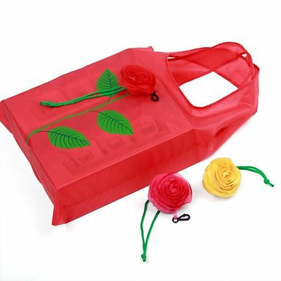 New Wholesale Recycle Bags Reusable Rose And Sunflower Shopping Bag Foldable