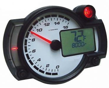 tachometers rev counters instruments gauges motorcycle. Black Bedroom Furniture Sets. Home Design Ideas