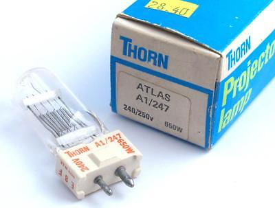 Thorn/ Atlas Projector Lamp/Bulb A1/247 240/250v 650W New Old Stock