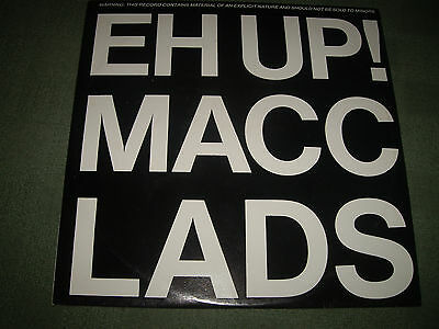 "THE MACC LADS vinyl 12"" –Eh Up! Macc Lads - Hectic House Records ‎– HHS1T"