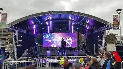 Arched Stage Solution - 8m by 6m OR 6m by 4m *HIRE*