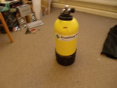 Scuba 12 litre steel stubby Cylinder Tested