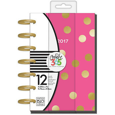 NEW Mini Happy Planner by MAMBI Big City Brights 2017 Dated