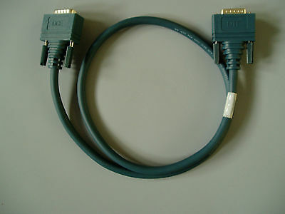Cisco DCE/DTE DB60 Crossover Cable - 3FT (CAB-TC-3FT/V 35)