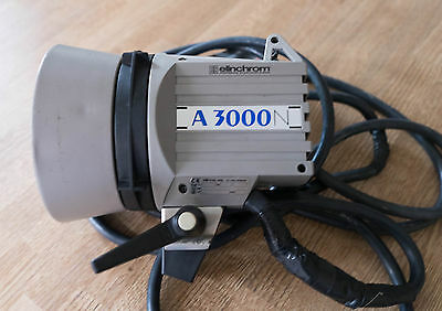 Elinchrom A3000n - Flash Tube in Excellent Condition | Flash Head | 3K