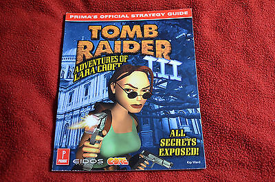 Tomb Raider Iii Prima's Official Strategy Guide For Playstation 1 Ps1 Lara Croft