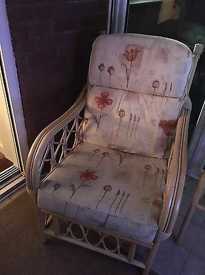 Wicker Conservatory Furniture Suite *COLLECTION ONLY