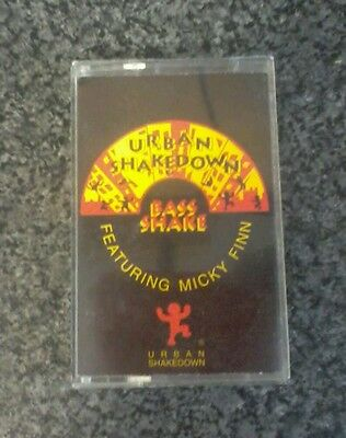 Urban shakedown. Bass shake. Mickey finn. 1992.  Jungle. Dnb. Hardcore. Rare.