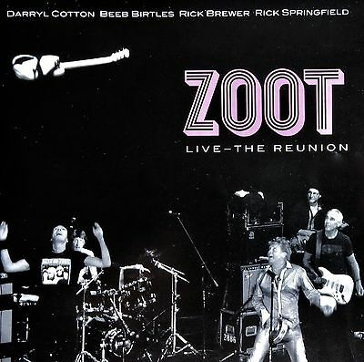 Zoot: Live - The Reunion (Cd/dvd)  2 Disc *rare Like New