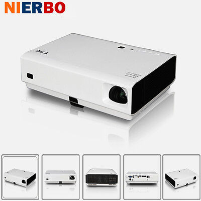 Proyector de LED portátil portátil Full HD 1080P Android Wifi 3D Home Theater