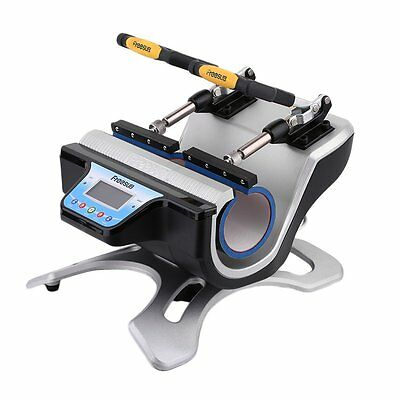 NEW DOUBLE TWIN 2 IN 1 Mug Heat Press Sublimation Transfer Printing UK