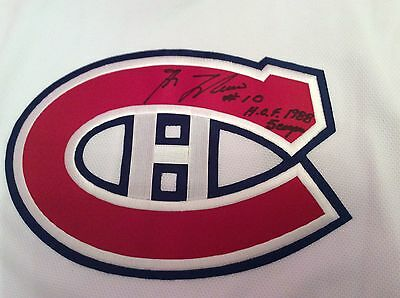 Montreal Canadiens  Guy Lafleur signed jersey