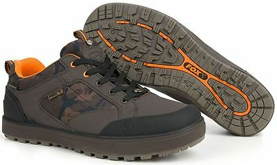 Fox NEW Chunk Camo All Weather Waterproof Trainers Shoes - Sizes 8 - 11