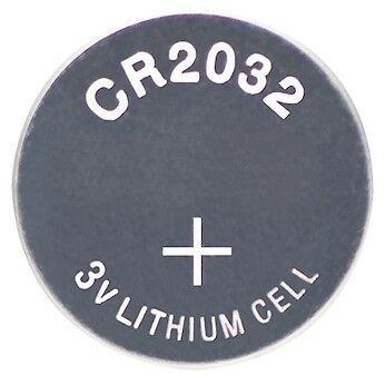 Fowler 54-100-350 Button Cell Battery Lithium-ion type CR2032