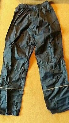 waterproof trousers age 11/12 Regatta