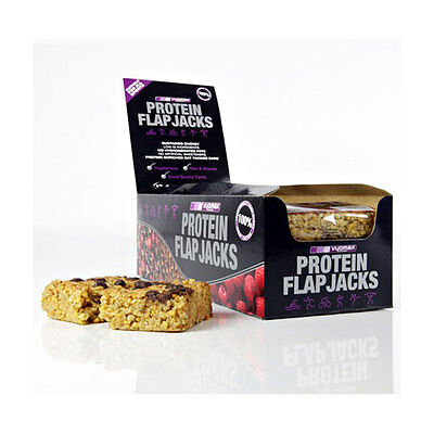 SK Sports (Vyomax) High Protein Flapjacks - 12 x 115g Bar(s) Chocolate Chip