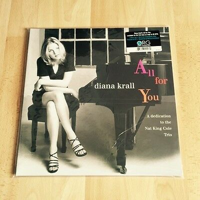 Diana Krall - All For You - 180g 45RPM Vinyl 2-LP 180g ORG006-45 New/sealed