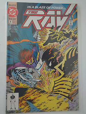 """DC Comics """" The Ray """" n° 4 VO (US) May 1992 sous pochette"""