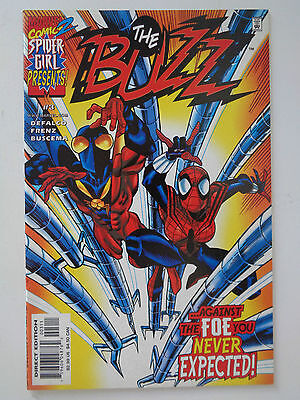 Spider Girl Presents THE BUZZ Vol1 n°3 VO (US) Sept 2000 Marvel Comics TBE