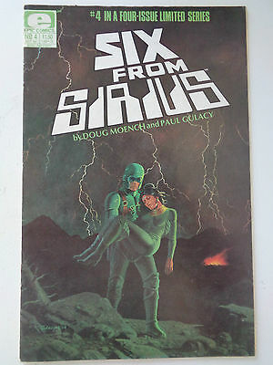 Six From Sirius Vol 1 n° 4 VO (US) Oct 1984 BE Epic Comics Marvel Group