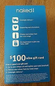 Naked wines $100 wine voucher