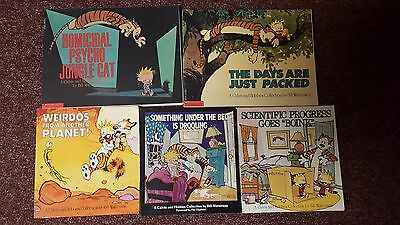 Calvin And Hobbes LOT OF 5 Softcover Humor Books