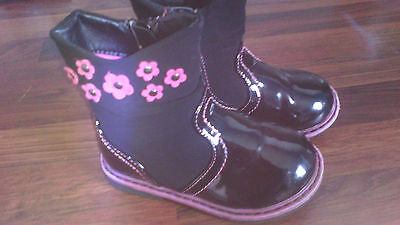 Baby girls infant boots size 5