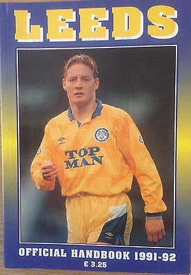 Leeds United Official Handbook 1991-92