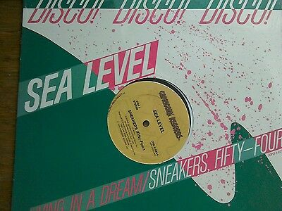 """Sneakers Sea Level (Fifty~four) 1978 Disco 12"""" New and Sealed! Reduced!"""