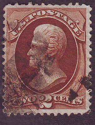 United States (1) 1870,  Two Cents,   Red-Brown , Used, Scott N° 146