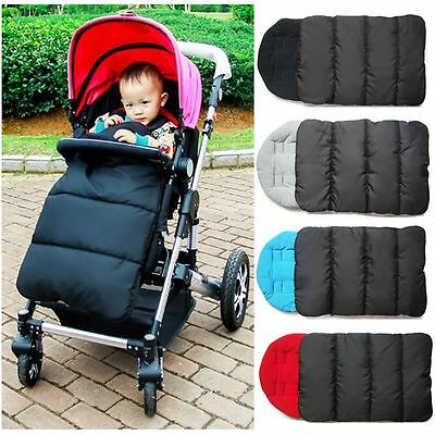 Outdoor Baby Carriages Strollers Mat Windproof Infant Sleeping Bag Foot Cover