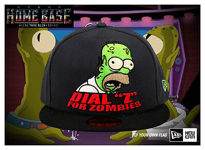 Limited Edition New Era 59FIFTY Fitted The Simpsons Treehouse of Horror Aliens
