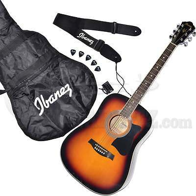 Ibanez Jampack V50NJP Acoustic Guitar Package