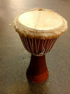 Professional Djembe Drum with 13 inch Head   25in height