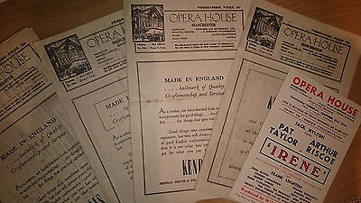 opera programmes 1944 x7 collectables