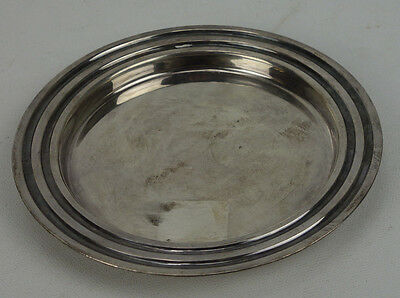 Antique Christofle Silverplate Wine Bottle Coaster