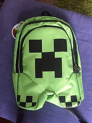Brand New With Label Mine Craft Backpack