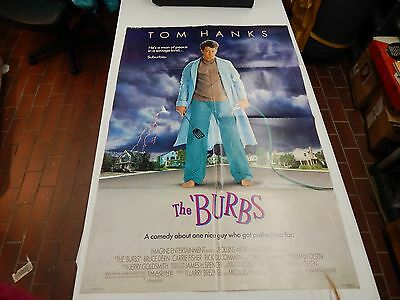 """the burbs 1988 27x41"""" 2 sided poster"""