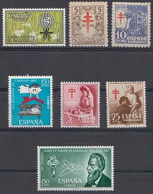 YG-A220 SPAIN - Tubercolosis, Medicine, Old Stamps MNH