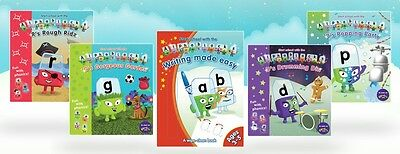 Alphablocks phonics bundle: 4 readers and 1 activity book (as seen on cbeebies)