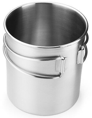 NEW GSI Stainless Steel GLACIER CUP/POT 24 Ounce Cup LARGE Size